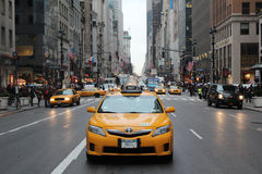 NYC-Taxi Stock Foto