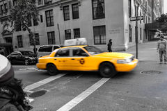 NYC taxi cab Stock Images