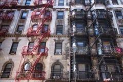 NYC Tenements Apartments Stock Image
