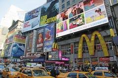 NYC TIMES FYRKANTEN Royaltyfri Foto