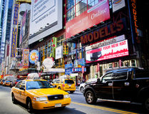 NYC Times Sqare Stock Photography