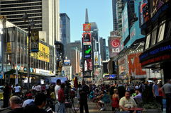 NYC : Times Square Photographie stock libre de droits
