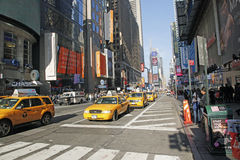 TIMES SQUARE, NYC. Times Square in NYC is also known as The Crossroads Of  The World Stock Image