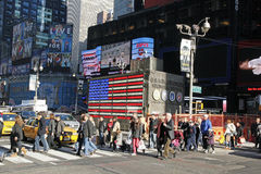 NYC TIMES SQUARE Obraz Royalty Free