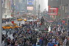 NYC TIMES SQUARE. Times Square in NYC is also known as The Crossroads Of  The World Stock Photo