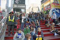 NYC TIMES SQUARE. Times Square in NYC is also known as The Crossroads Of  The World Stock Photos