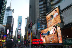 NYC, Times Square Advertising Royalty Free Stock Image