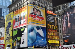 NYC: Times Square Billboards Royalty Free Stock Photos