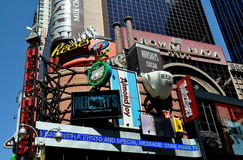 NYC: Times Square Hershey Chocolate Store Stock Image