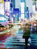 NYC Times Square royalty free illustration