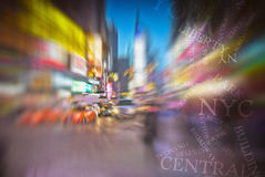 NYC Times Square. New York City Times Square stock photo