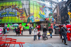 NYC Times Square Royalty Free Stock Photos