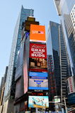 NYC: Times Square Towers/Billboards Royalty Free Stock Photos