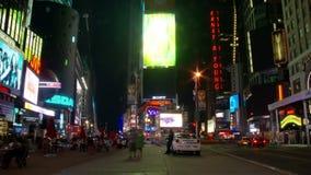 NYC-Times Square-Zeitspanne - neues Klipp 1 stock video footage