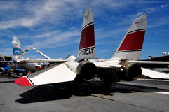 NYC: Tomcat Jet at Intrepid Museum Stock Images