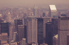 NYC toned Royalty Free Stock Photography