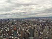 NYC. Top of freedom tower Royalty Free Stock Images