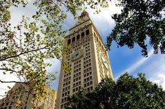 NYC: Torre del seguro de vida del metropolitano 1909 Fotos de archivo