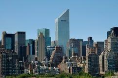 NYC: Torretta di Citicorp e orizzonte del lato est Immagini Stock Libere da Diritti