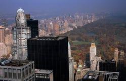 NYC: Torrette di Midtown e del Central Park Fotografie Stock