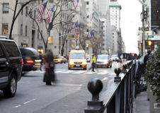 NYC Traffic Royalty Free Stock Photography