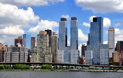 NYC: Trump Place at Riverside Park South Royalty Free Stock Photo