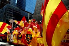 NYC: Turkish Day Parade Stock Image
