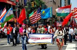NYC: Turkish Day Parade Royalty Free Stock Image
