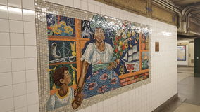 NYC-U-Bahn Lizenzfreies Stockfoto