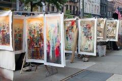 NYC, Uliczna Sztuka Zdjęcia Royalty Free
