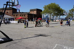 2015 NYC Unicycle Festival 8 Stock Fotografie