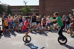 The 2015 NYC Unicycle Festival Part 2 42 Royalty Free Stock Images