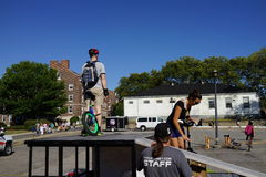 The 2015 NYC Unicycle Festival Part 2 86 Stock Photography