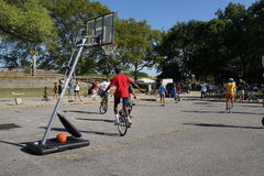 The 2015 NYC Unicycle Festival Part 2 93 Royalty Free Stock Images