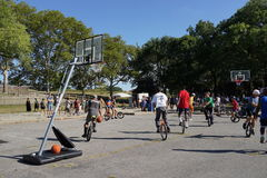 The 2015 NYC Unicycle Festival Part 2 95 Stock Photos