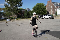 The 2015 NYC Unicycle Festival Part 3 3 Stock Photography