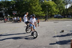 The 2015 NYC Unicycle Festival Part 3 7 Royalty Free Stock Images