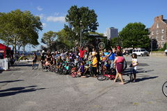 The 2015 NYC Unicycle Festival Part 3 11 Stock Images