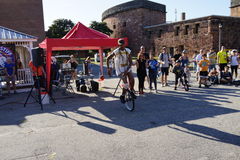 The 2015 NYC Unicycle Festival Part 3 54 Royalty Free Stock Photo