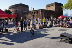 The 2015 NYC Unicycle Festival Part 3 57 Royalty Free Stock Photography