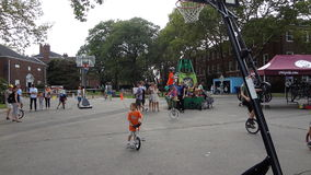 The 2013 NYC Unicycle Festival 66 Royalty Free Stock Photography