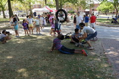 2015 NYC Unicycle festiwal 1 Zdjęcie Royalty Free