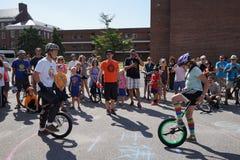 2015 NYC Unicycle festiwalu część 2 23 Zdjęcie Stock