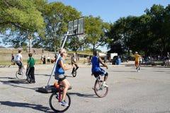 2015 NYC Unicycle festiwalu część 3 4 Zdjęcia Royalty Free