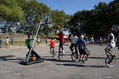 2015 NYC Unicycle festiwalu część 3 5 Fotografia Stock