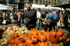 NYC: Union Square Farmer's Market Stock Images