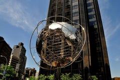 NYC: Unisphere em Columbus Circle Fotos de Stock