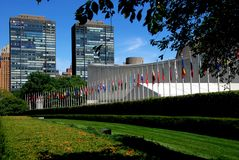NYC: United Nations Stock Photos