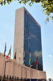 NYC: United Nations Secreteriat Tower Royalty Free Stock Image