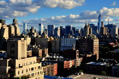 NYC: Upper West Side And Midtown Manhattan Skyline Royalty Free Stock Photo